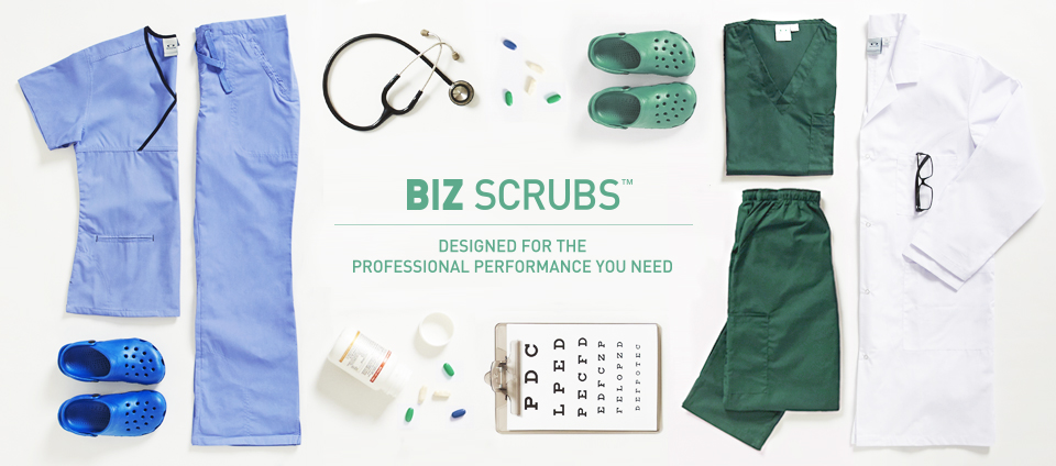 Biz Scrubs - Designed for the professional performance you need