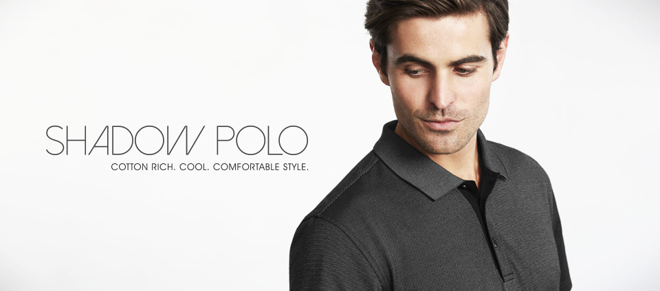 Shadow Polo - Cotton Rich, Cool, Comfortable style