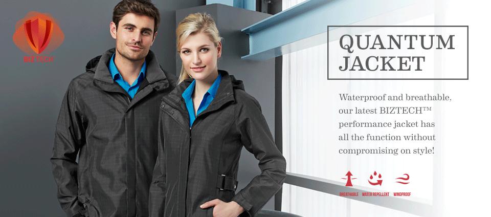 Quantum Jacket - Waterproof and breatable!