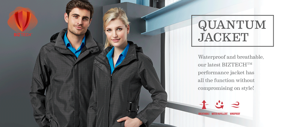Quantum Jacket - Waterproof and breathable!